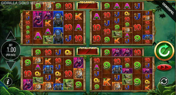 gorilla gold spelet