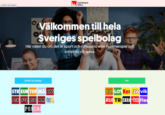 svenska spel hemsidan